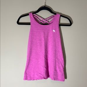 Abercrombie Kids tank top. Hot pink. Size 13/14.